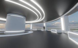 Виртуальный выставочный павильон